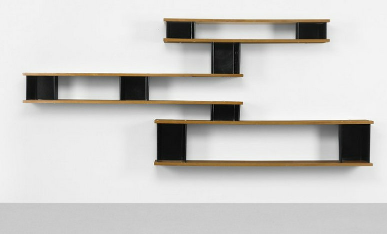 Important design wright auction - Bibliotheque perriand ...